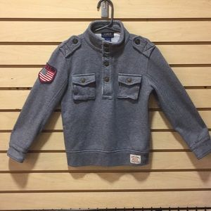 Sz 5 Polo Sweatshirt Sweater
